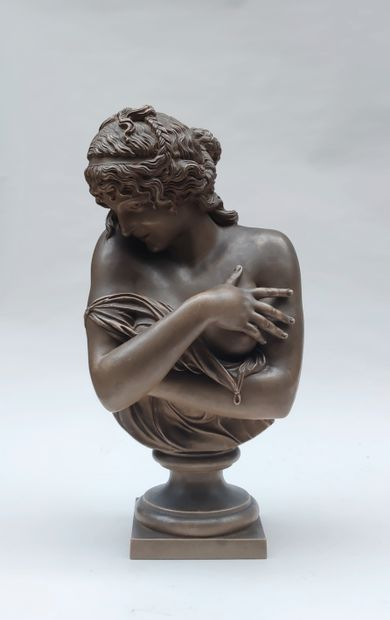 JEAN ANTOINE HOUDON (1741-1828), Modesty,...