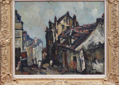 Pierre DUMONT (1884-1936) La maison de Mimi...