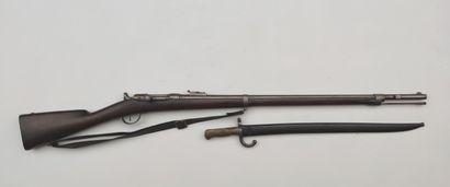 Infantry rifle Chassepot model 1866, barrel...