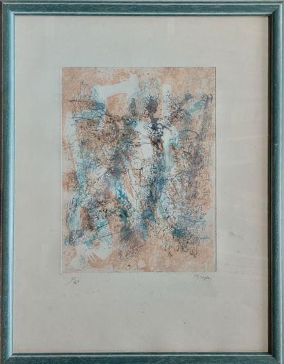 Camille BRYEN (1907-1977) Composition sur...