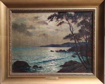 Jean KEULÉYAN-LAFON (1886-1973) Crépuscule...