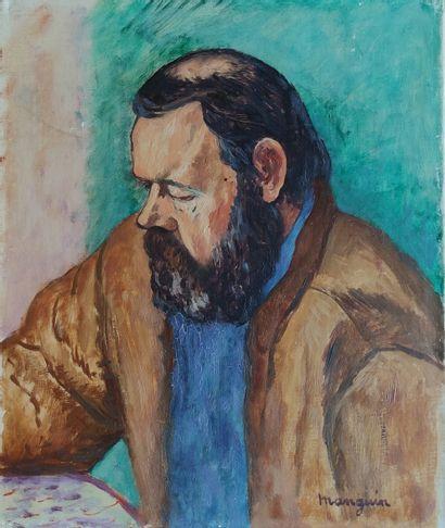 MANGUIN Henri (1874-1949) Portrait de Fernand...
