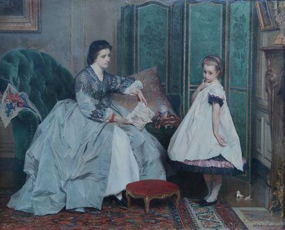 Gustave Leonhard DE JONGHE (1829-1893) La...
