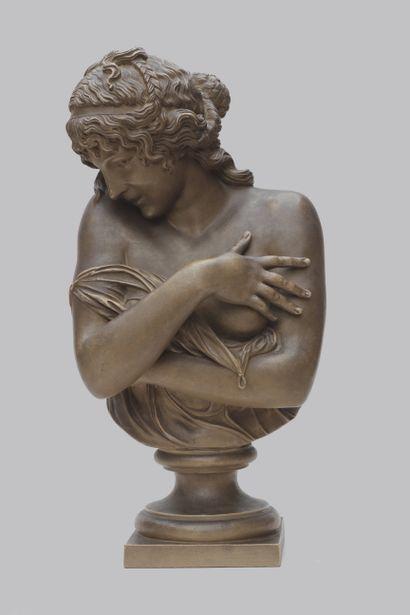 JEAN ANTOINE HOUDON (1741-1828), La pudeur,...