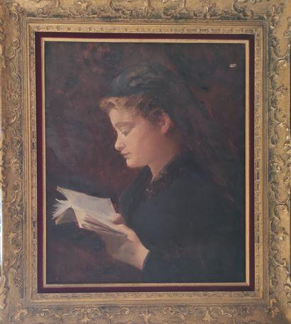 A. COUSIN (fin du XIXe siècle) Portrait...