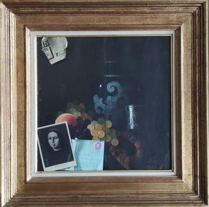 Jean GRIMAL (1942-1998) Nature-morte en...