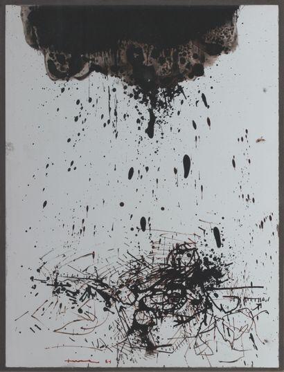 LEVEE John (1924 - 2017) Composition , 1964...