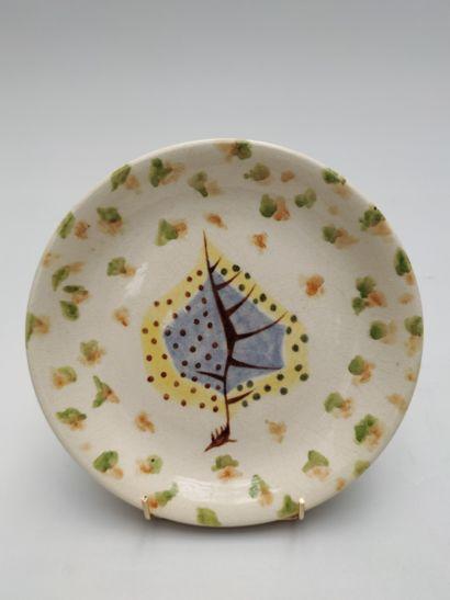 Jean LURCAT (1892-1966) ASSIETTE en céramique...