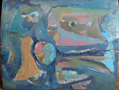 FALKENSTEIN Claire (1908 - 1997) Composition...