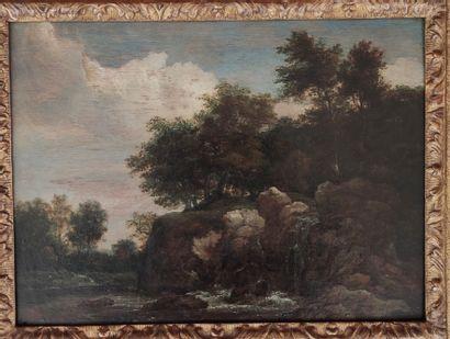 RUYSDAEL Jacob Isaack van (Attribué à) Haarlem...