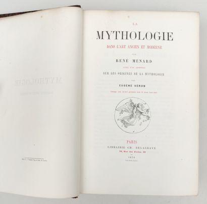 MENARD (René) LA MYTHOLOGIE. Dans l'art...