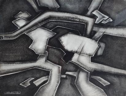 Roger DESSERPRIT (1923-1985) Composition...