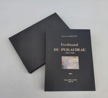 Ferdinand DU PUIGAUDEAU Tome I du catalogue...
