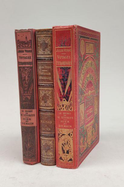 Jules VERNE Le secret de W Storitz / Hier et demain librairie Hachette 1924, collection...