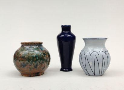LOT comprenant : Robert PICAULT Petit vase...
