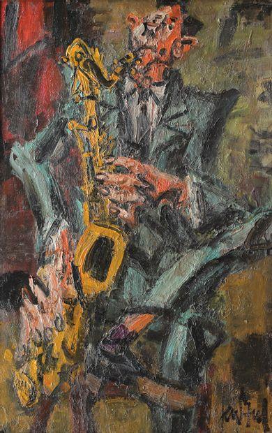 GEN PAUL (1895-1975) Musicien saxophoniste...