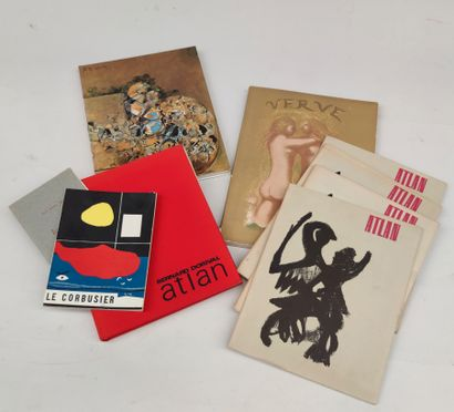 Bernard DORIVAL Atlan 4 catalogues ATLAN...