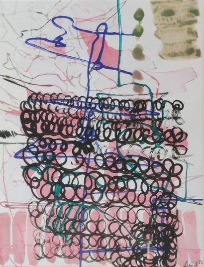 François ARNAL (1924-2012) Composition Technique...