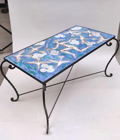 Edouard CAZAUX (1889-1974) et son atelier de La Varenne saint Hilaire Table basse...