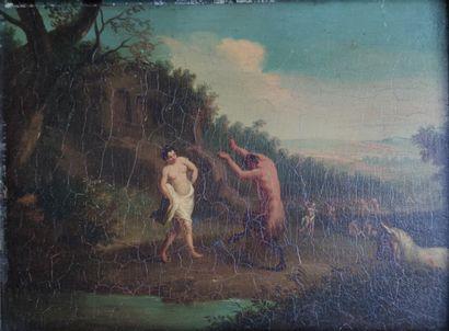 ECOLE FRANCAISE début XIXe siècle Danse...