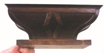 Petit autel miniature de voyage; meuble...