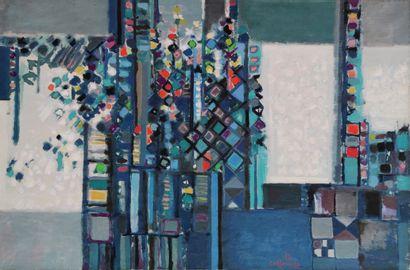 Manuel CARGALEIRO ( Né en 1927) Les fenêtres...