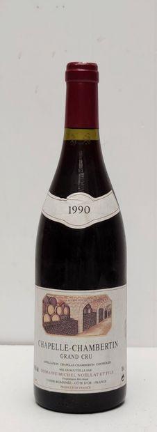 1 BOUT CHAPELLE CHAMBERTIN NOELLAT 1990...