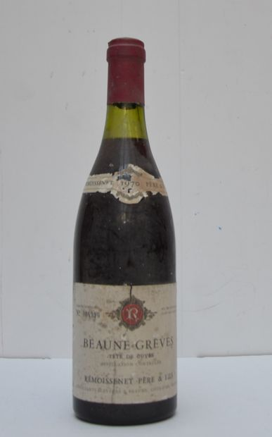 1 bout BEAUNE-GREVES 1970
