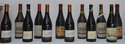 12 bout : 3 bout Arbois 1988 rouge, 2 bout...