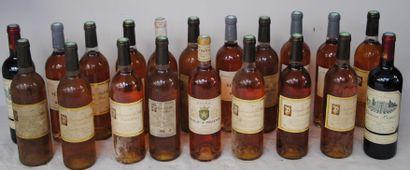 20 bout VINS ROSE : BANDOL, PACHERENC, B...