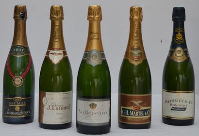 5 bout : 1 bout Champagne Veuve Lanaud, 1...