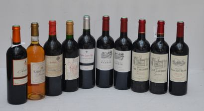 10 bout : 2 bout Chateau Barrie 2010, 2 bout...