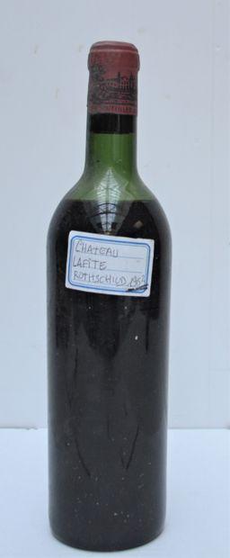1 bout CHT LAFITE ROTHSCHILD 1962 (sans ...