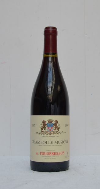 12 bout CHAMBOLLE MUSIGNY 1997