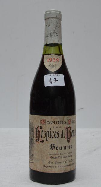1 bout HOSPICES DE BEAUNE 1959