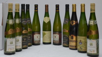 11 bout : 3 bout Wolf Berger 2005 Riesling,...