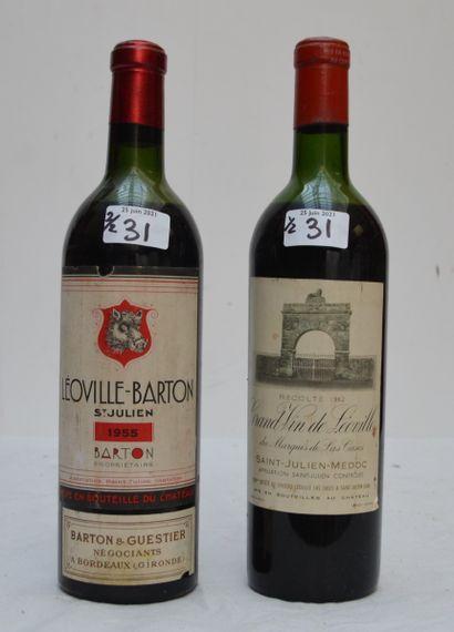 2 bout 1 CHT LEOVILLE LAS CASES 1962 (demi...