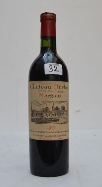 2 bout 1 CHT DUFORT 1955 MARGAUX , 1 CHT...