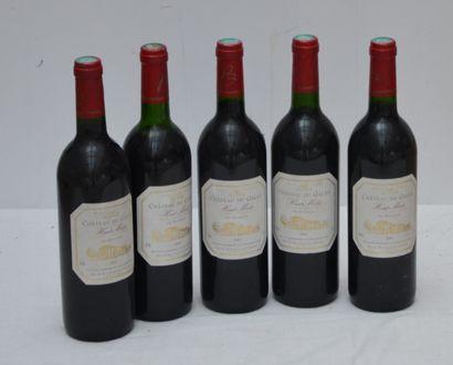 5 bout Chateau du Galan 2001 Haut Medoc (1...