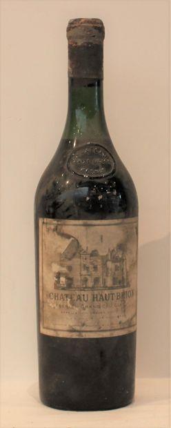 1 bout CHT HAUT BRION 1958  (DEBUT EPAULE,...