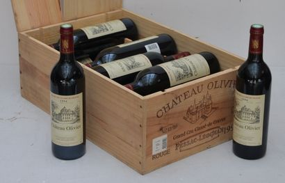 12 bout Chateau Olivier Rouge 1994 (CB)