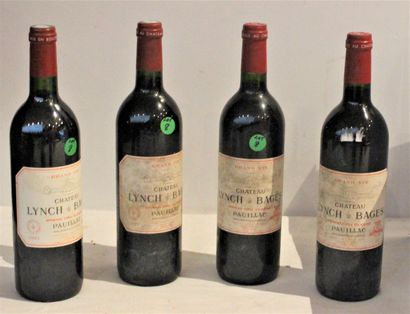 4 bout 3 CHT LYNCH BAGES 1999, 1/2002