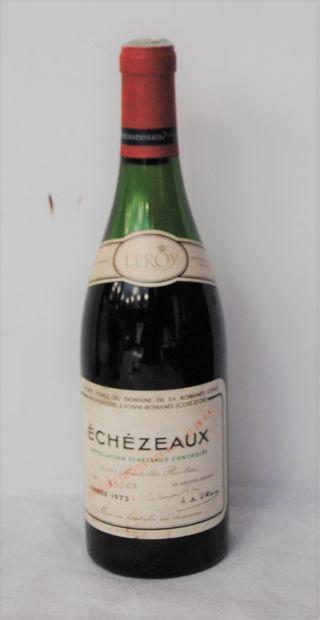 1 bout ECHEZEAUX DRC 1973 (-6CM)