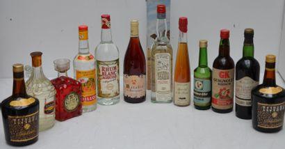 12 bout ALCOOLS DIVERS