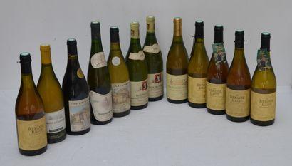 12 bout : 6 bout Bourgogne Aligoté 5 de 1996...