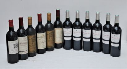 12 bout : 6 bout Chateau Longues Reyes 2009,...