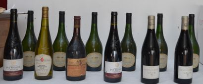 12 bout : 6 bout Muscadet 1995 Domaine Bel...