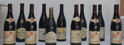 12 bout : 4 bout Côtes du Rhône Guigal 2002,...
