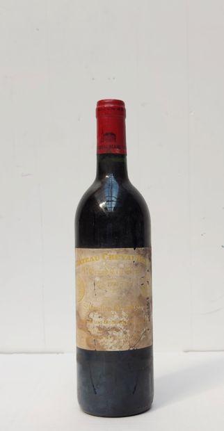 1 BOUT CHT CHEVAL BLANC 1990  (étiquette...