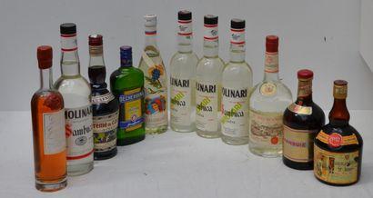 11 bout : ALCOOLS DIVERS